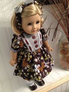 American Girl Doll Clothes  Butterfly Dress by NanaDorysCreations, $12.99