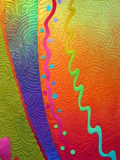 quilting detail by Melody Johnson Quilts, via Flickr