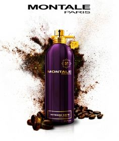 Montale - Intense Cafe Top note is floral notes; middle notes are coffee and rose; base notes are amber, vanila and white musk.