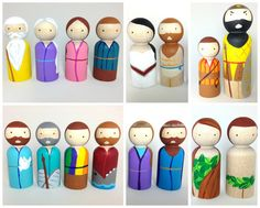 Old Testament Character MegaPack by PeggedByGrace on Etsy