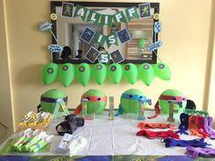 TMNT Table Set Up. Ninja Turtle . & Ninja Turtle Table Set \u0026 TMNT Table Set Up. Ninja Turtle ...