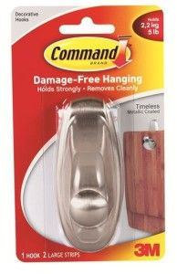 Command hooks aren\'t just for renters! Hang your curtains quickly ...