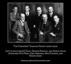 Sigmund Freud and his most influential followers.