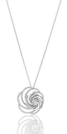 Mother's Day 14K White Gold Over D//VVS1 Equestrian Lucky Horseshoe Disc Pendant