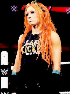 Becky Lynch  ... I want her hair...