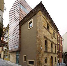 Project: Colegio Arquitectos Gijón Architect: Cesar Ruiz Larrea Material: Secritex Natur