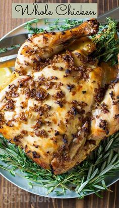 Slow Cooker Whole Chicken is the perfect Father's Day Dinner Recipe Cupcake Party, Everyday Food, Slow Cooker, Chicken Recipes, Dinner Recipes, Easy, Crock Pot, Supper Recipes