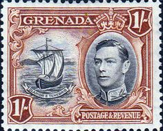 Grenada 1938 King George VI SG 159 Fine Mint Scott 138 Other Grenada Stamps HERE