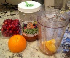 Fresh cranberry and orange salad dressing- sensational flavor