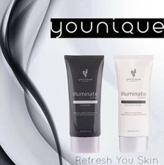 Light Up Your Skin with Younique's NEW Illustrious Facial Cleansers, Illuminate Clear and Clean. Whatever your skin type—and whatever your skin cleansing needs are—Illuminate has you covered. $39.00 each #beauty #skincare #younique www.yourtruehue.com