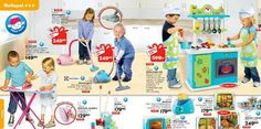 Swedish toy store Top Toy's catalog (2012).  Sweden is known for their high level of gender equality, which is obvious when viewing this toy store's catalog.  Both boys and girls are playing with toys usually marketed towards one gender or the other.  When children see this ad, it doesn't drive them to chose what toys they want based on their gender, but rather it is based on what actually interests them. -Kevin K.