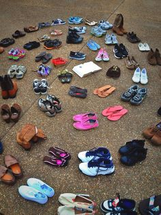 GOOD4THESOLE..... Collecting shoes to send to countries in need! Your word is a lamp unto my feet and a light unto my path. ~Psalm 119:105