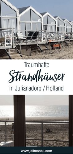 Strandhäuser in Julianadorp & Holland Traumhafte Strandhäuser in Julianadorp / Holland. Perfekter Urlaub an der Nordsee The post Strandhäuser in Julianadorp & Holland appeared first on Decoration Page. Great Places, Places To Go, Beautiful Places, Europe Destinations, Europe Travel Tips, Holland Strand, Living In Europe, Backpacking Europe, Wayfarer