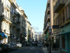 This is the street I lived on with my group for a couple of months in Nice, France!  Rue Giofreddo!