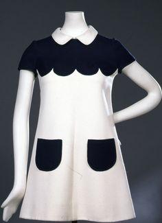 60s fashion designers: Courrèges
