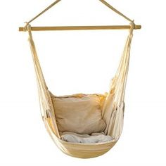 Capable Hanging Rope Hammock Chair Swing Seat For Indoor Outdoor Spaces Fashion Casual Hanging Hammock Chair Sports & Entertainment