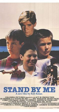Directed by Rob Reiner.  With Wil Wheaton, River Phoenix, Corey Feldman, Jerry…