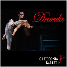 """The California Ballet Company is offering tickets for """"Dracula"""" for 50 percent off. #sandiego #dracula #californiaballet #deal"""