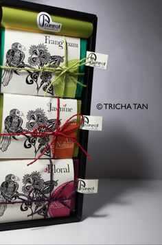Parrot Botanicals Soap Packaging Revamp by Tricha Tan, via Behance