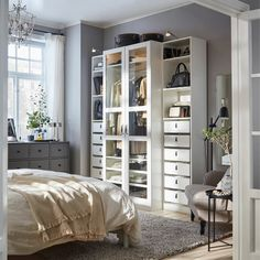 Easy Steps to A Stylish Master Bedroom In 2020 Bedroom Gallery Ikea Of 92 Inspirational Easy Steps to A Stylish Master Bedroom In 2020 Ikea Pax, Ikea Bedroom, Bedroom Decor, Master Bedroom, Ikea Kids Room, Ikea Family, Ikea Home, Awesome Bedrooms, Open Shelving