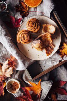 Cinnamon Orange Hazelnut Morning Buns