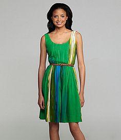 Calvin Klein Printed Dress | Dillards.com