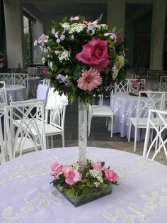 centros de mesa con flores naturales - Buscar con Google