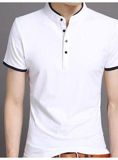 Tommy Hilfiger para Hombre Vestido Camisetas no Hierro Regular fit s/ólido Cuello Abotonado