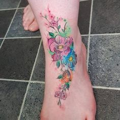 125 Most Popular Foot Tattoos For Women