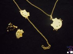 $50.00: Gold Filled Set Hello Kitty-V-S1