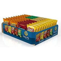 Shop Staples for Frito Lay Variety Pack 1 oz. Night Snacks, Easy Snacks, Fini Tubes, Chocolate Candy Brands, Sims 4 Kitchen, Cafeteria Food, Frito Lay, Chips Brands, Sour Cream And Onion