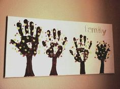 Family trees wall art..:)