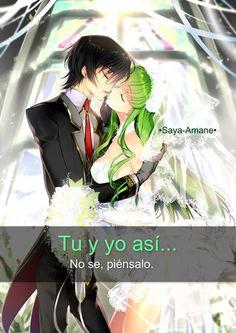 Videos Anime, Anime W, Otaku, Romance, Angel, Love, Code Geass, King, Queen