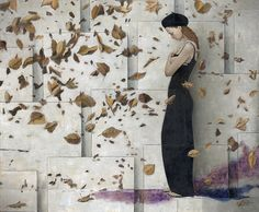 Sergio Cerchi  Gold and Violet, plus a touch of inspiration.