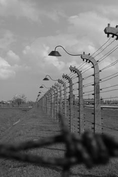 Auschwitz Concentration Camp, just scary and so sad.