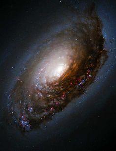 Black Eye Galaxy M64 Hubble Space Telescope
