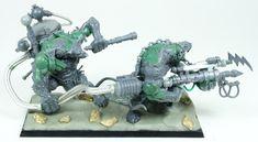 Marc Raley Miniatures: Warp Lightning Weapon Team Conversion