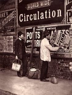 Street Advertising, London - Spitalfields Life