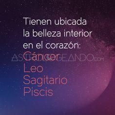 #Cáncer #Leo #Sagitario #Piscis #Astrología #Zodiaco #Astrologeando