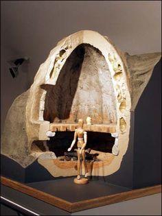 Model of early Raeren kiln (Medieval?)