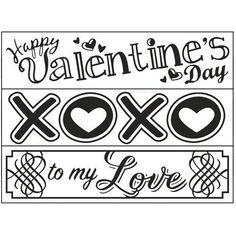 Darice Valentines Day 3 Pack Embossing Folder Set