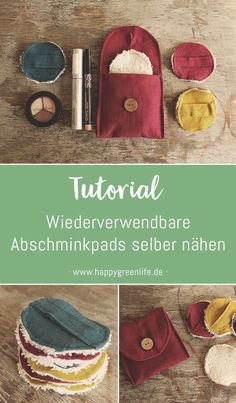 Nähanleitung: Wiederverwendbare Abschminkpads selber nähen The Effective Pictures We Offer You About sewing projects ideas A quality picture can tell you many things. Upcycled Crafts, Diy Sewing Projects, Sewing Crafts, Creative Labs, Diy Couture, Tampons, Zero Waste, Diy Crafts For Kids, Fabric Crafts