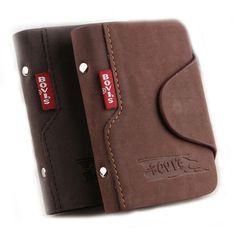 1 stück Echtes Leder Visitenkarten Halter Kreditkarte Abdeckung Taschen Haspe Karte Organizer Bags -- BIH003 PM49