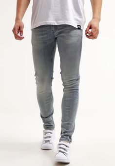 MALONE - Jeans Skinny Fit - fading blue https://www.zalando.
