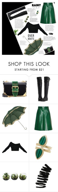 """Don't want you to looking at the stars tonight"" by elberethgilthoniel ❤ liked on Polyvore featuring Prada, Burberry, VIVETTA, Anna Beck and Bobbi Brown Cosmetics"