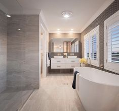Custom Home Designs, Custom Homes, 4 Bedroom House Designs, Wall Hung Vanity, Cost To Build, Home Estimate, Ensuite Bathrooms, Storey Homes, Gowns