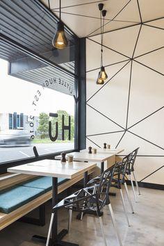 Our completed project 'Little Hugh', Nunawading. #biasol #design #australianinteriors #dailyinspo #interior #biasoldesign #hospitality #project #architecture #australiandesign #biasoldesignstudio #modern #interiorinspo #interiordesign #australianarchitecture #indoor #instadaily #littlehugh #melbourne #nunawading #local #industrial #crisp #clean #minimalistic #geometric #seamless #concrete #plumen #dulux #teal #greenery