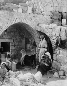 "BiblePlaces Blog: ""No Room in the Inn"" - history brings so much more to this story.  ""He came to that which was his own, and his own did not receive him."""
