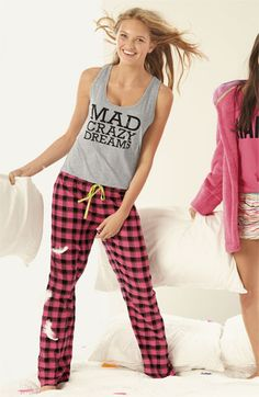 Pajama Party: Steve Madden Tank & Pants #Nordstrom #Holiday