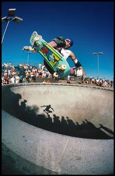 """18 x 24"""" Neil Blender Ollie Del Mar Skate Ranch 80s Skateboarding Photo"""